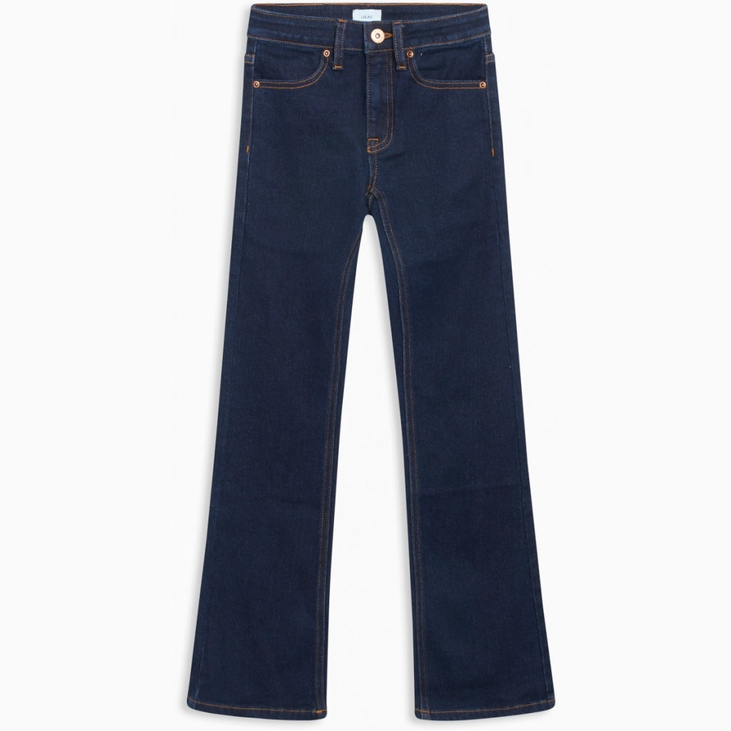 GRUNT / Flare raw jeans