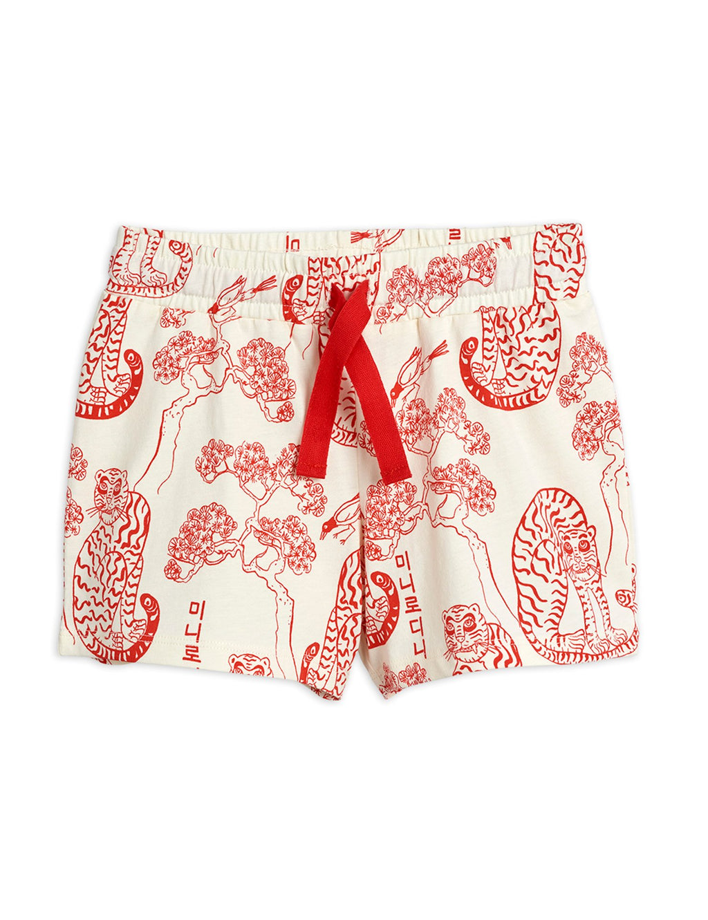 MINI RODINI / Tigers shorts