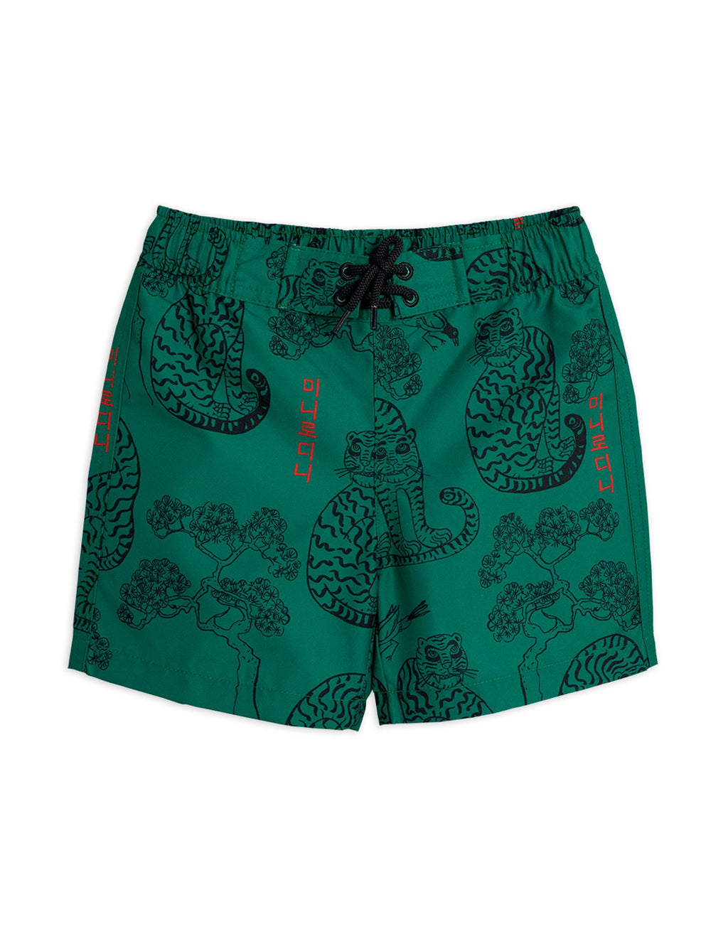 MINI RODINI / Tiger swim shorts