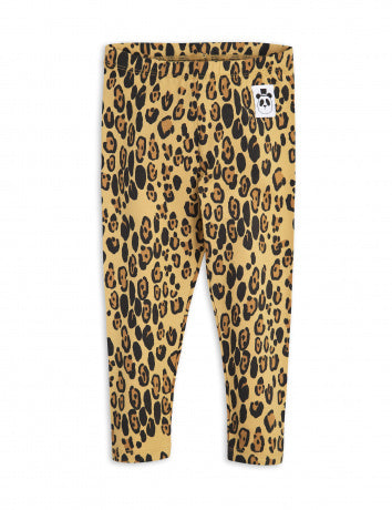 MINI RODINI / Basic Leopard leggings