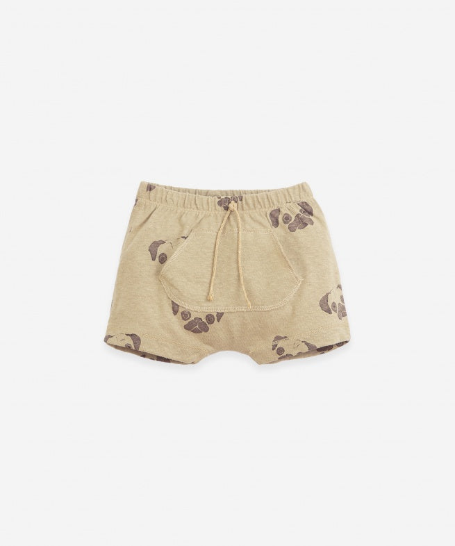 PLAY-UP / Shorts with Pug print, BABY