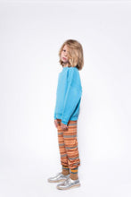 Afbeelding in Gallery-weergave laden, REPOSE / Stranger pants orange inky stripe