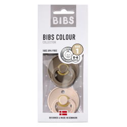 "BIBS / Speentjes ""Dark Oak & blush"""