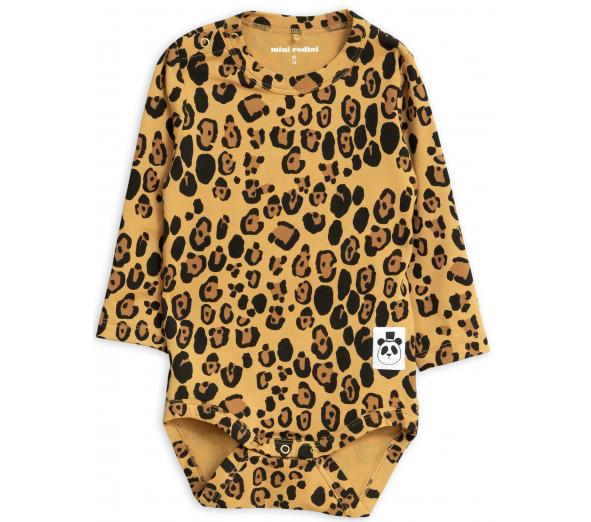 MINI RODINI / Basic leopard body, BABY