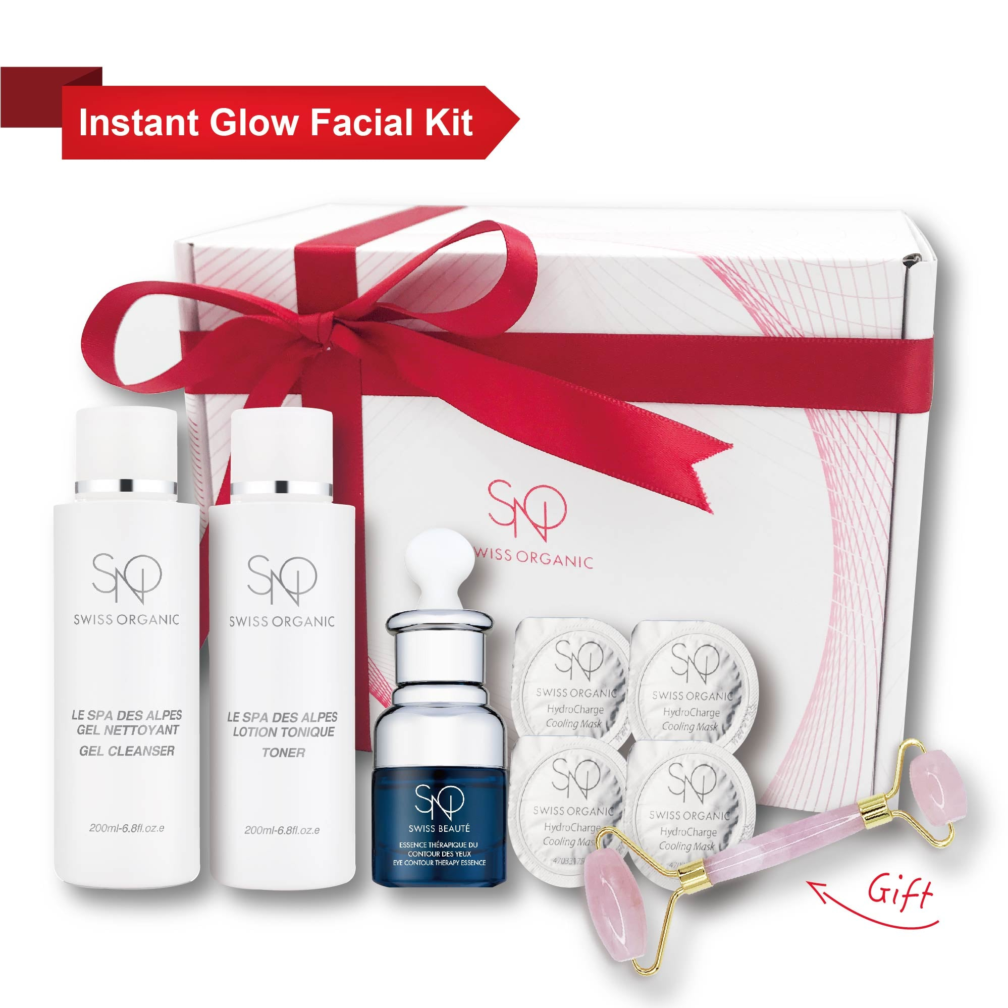 【Home Facial Kit】The Essential Beauty Reboot Set