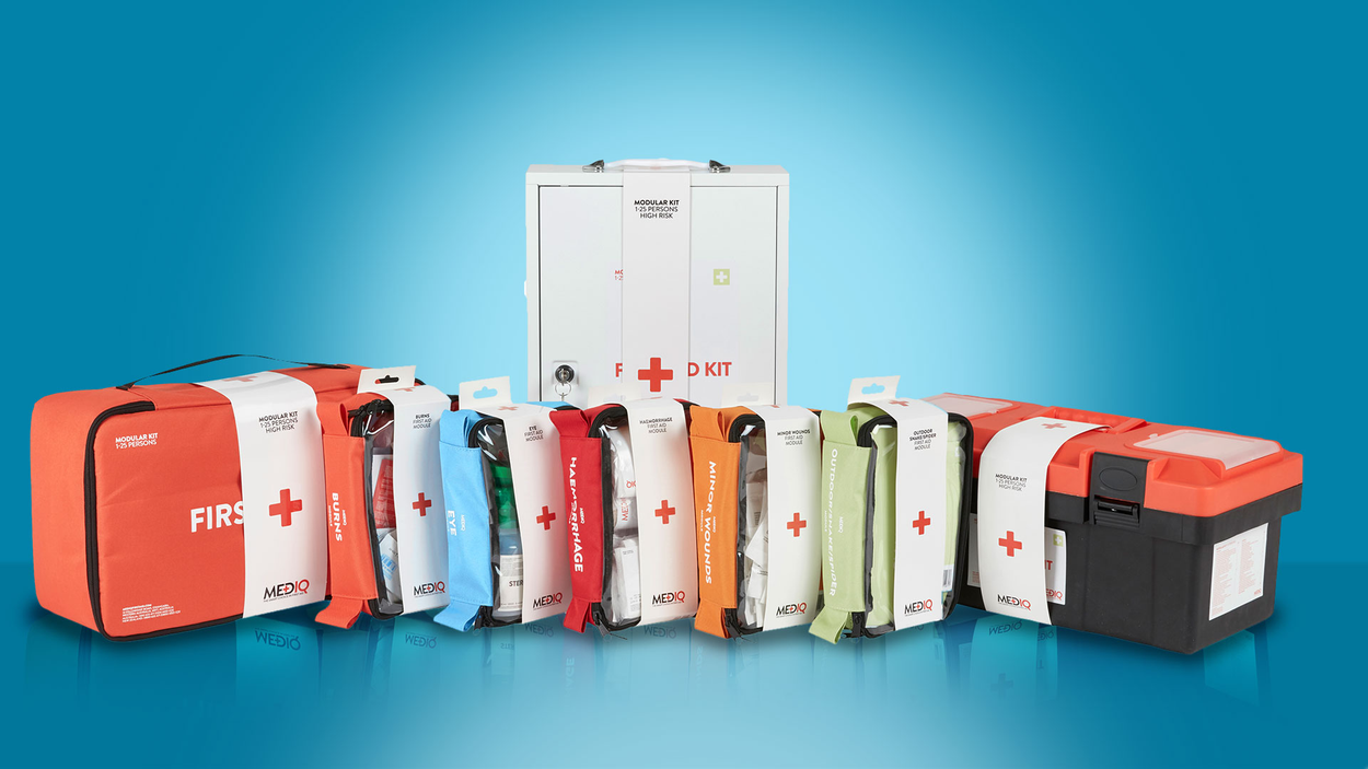 MEDIQ FIRST AID KITS