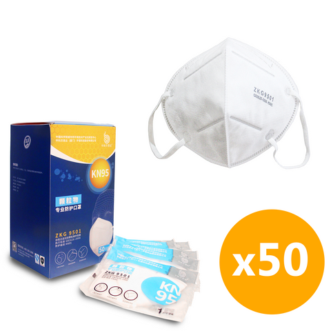 *Wholesale* KN95 Dust Face Mask - 50 Units