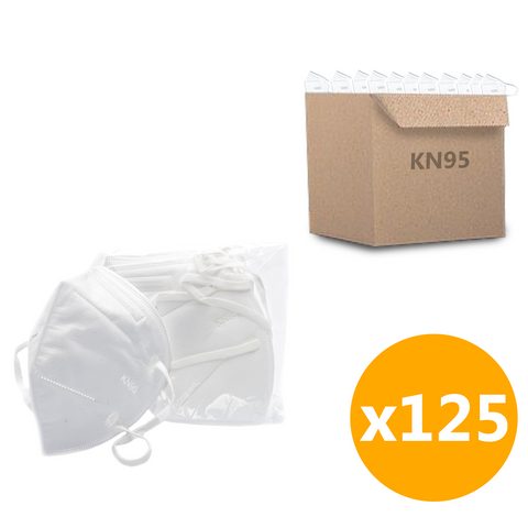 *Wholesale* KN95 Face Mask - 25pk (125 Masks Total)