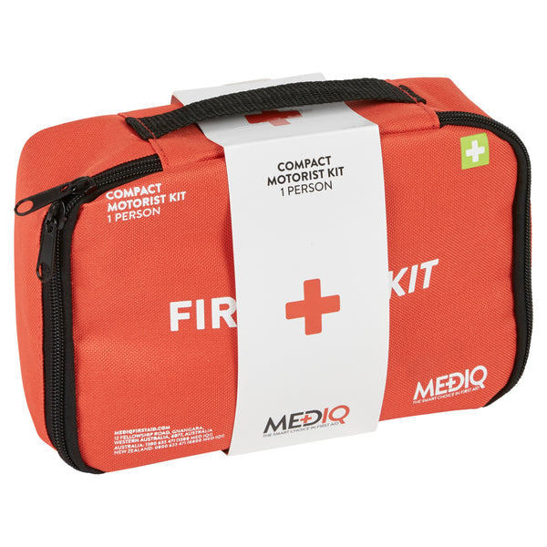 Mediq Essential First-Aid Kit - Compact Motorist (Soft Pack)