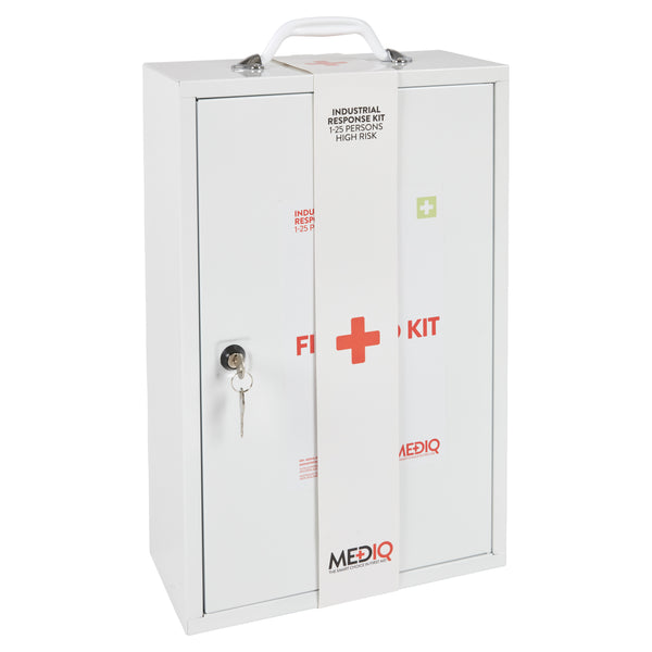 Mediq Essential Industrial Response Kit - Metal Cabinet (High Risk)