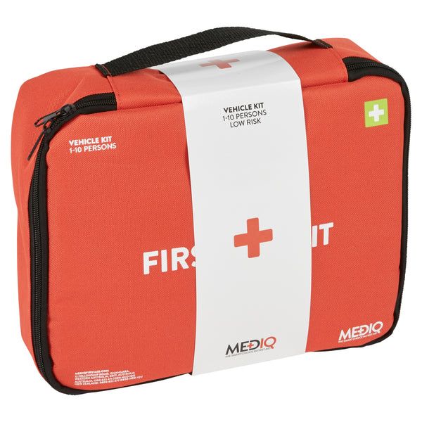 Mediq Essential Vehicle First-Aid Kit - Soft Case (Low Risk)