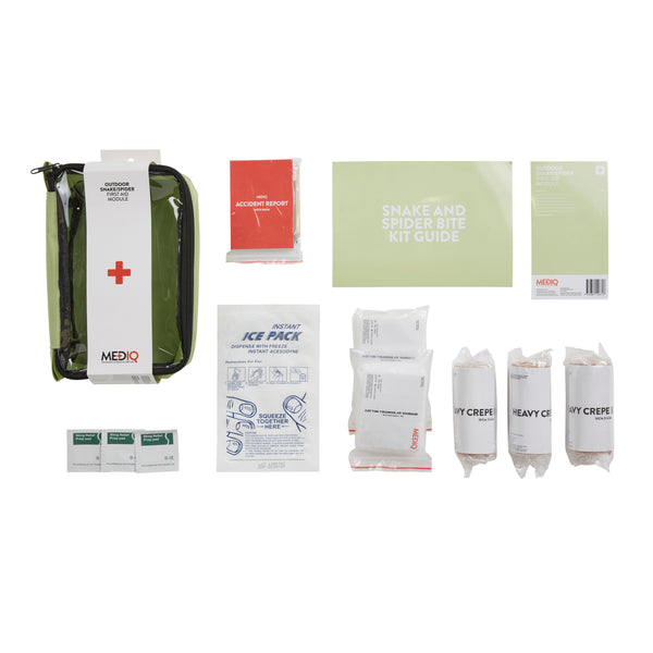 Mediq Outdoor, Snake, Spider Incident Ready First-Aid Module (Soft Pack)
