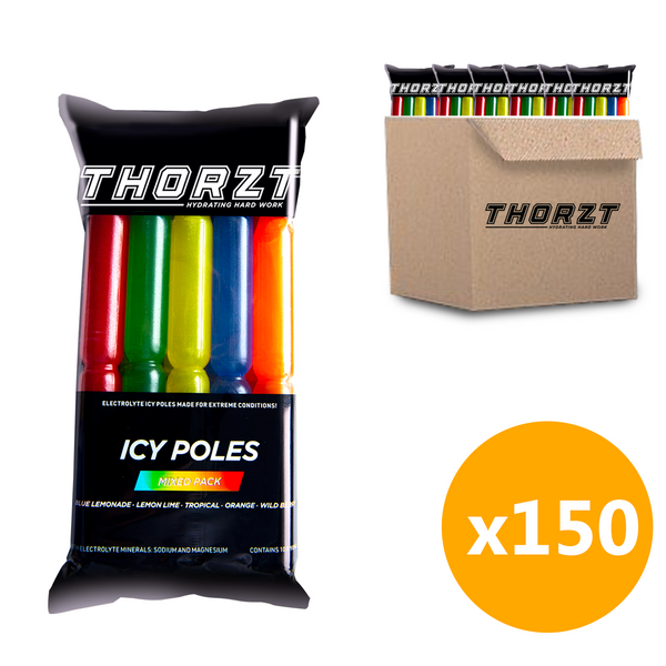 *Wholesale* Thorzt Icy Pole Mixed Pack - 1 Box (15 packs)