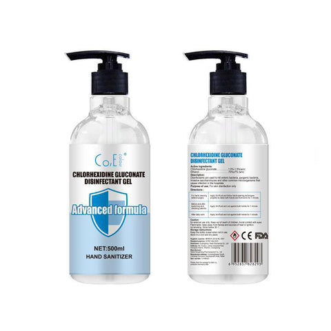 Alcohol-Based Sanitiser Gel - Twin Pack (2 x 500mL)