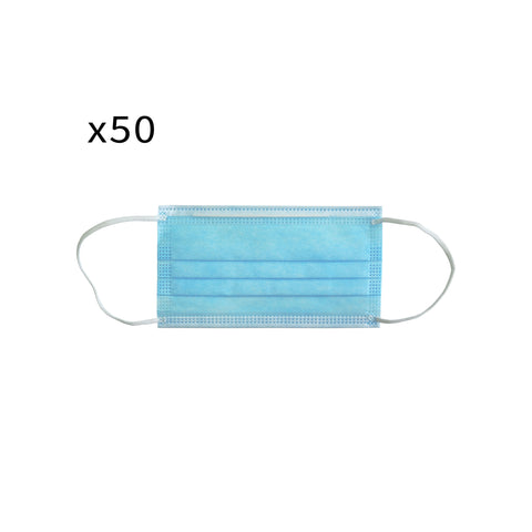 Disposable Medical Face Mask - TGA Registered - Pack of 50