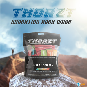Thorzt Sugar Free Electrolyte Solo Shot - Mixed Flavours 50 x 3g