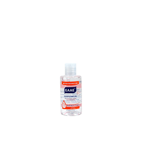 EAAE Alcohol-Based Sanitiser Gel - Pack of 5 (60mL each)