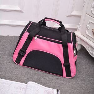 Travel Bags Breathable Mesh  Cat or Chihuahua Carrier Outgoing Pets Handbag