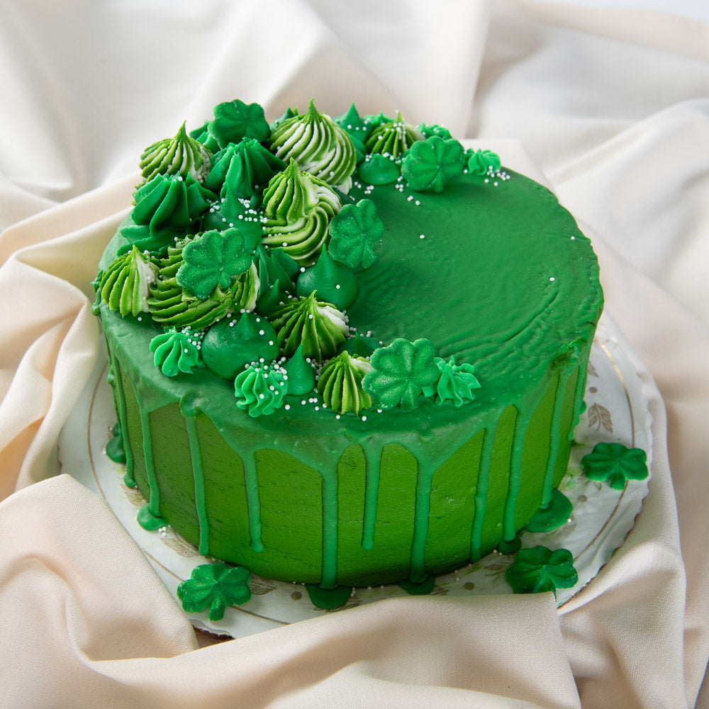 Luck of the Irish Drip Cake