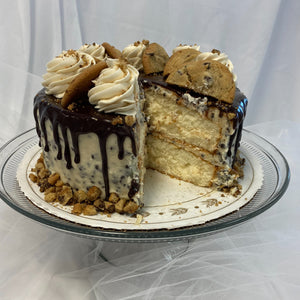 Cookie Dough Drip Cake
