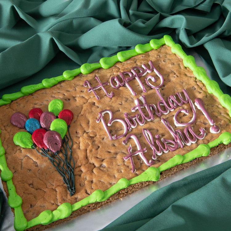 1/2 Sheet Decorated Cookie