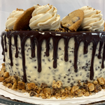 Load image into Gallery viewer, Cookie Dough Drip Cake
