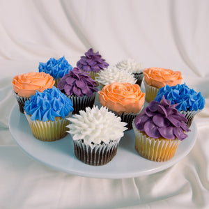 Hand Decorated Custom Cupcakes