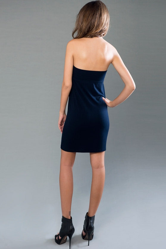 Convertible Tube Dress / Skirt - Black