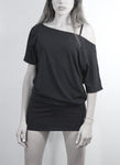 Basic Black Tee Dress