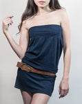Convertible Tube Dress / Skirt - Navy