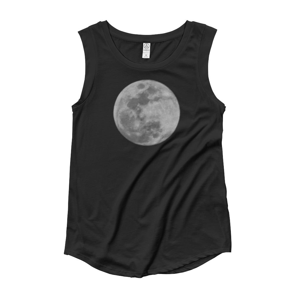 Moon Cap Sleeve Tee