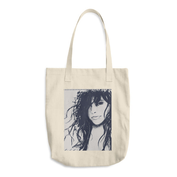 Grafik Girl x Culture Canyon Collab - Cotton Tote Bag