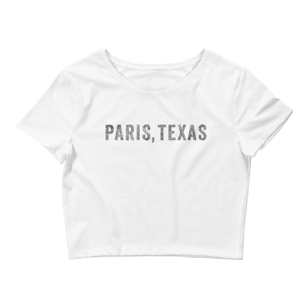 Paris Texas Crop Tee