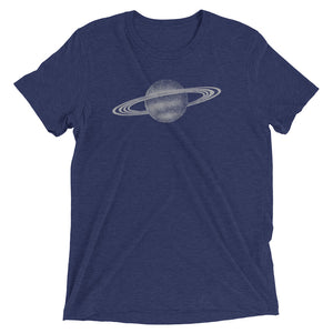 Intergalactic Planetary Series - Saturn Print - t-shirt