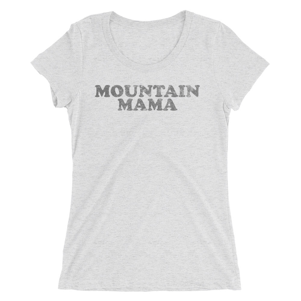 Mountain Mama Graphic Print Ladies' short sleeve t-shirt
