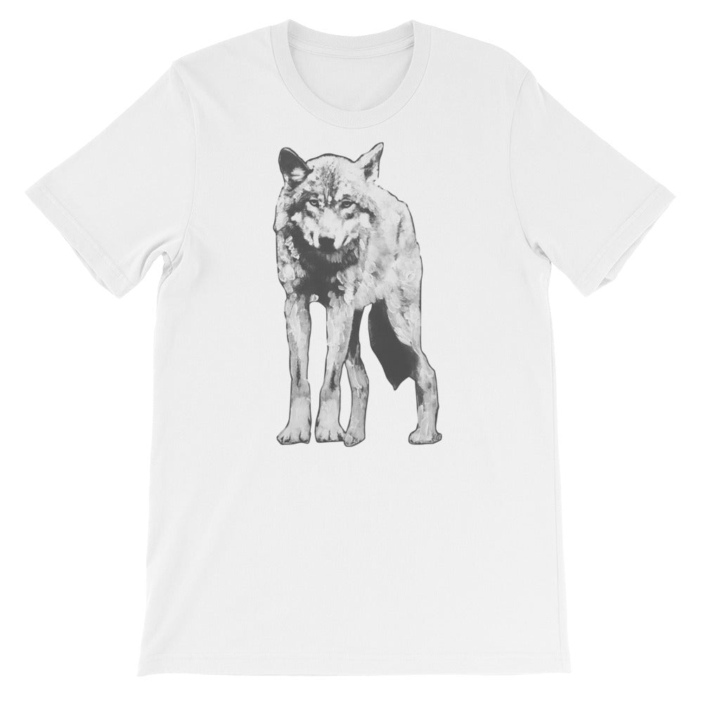 Painted Wolf Tee