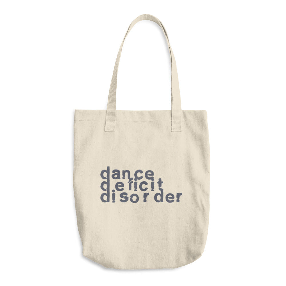 Dance Deficit Disorder Canvas Tote Bag