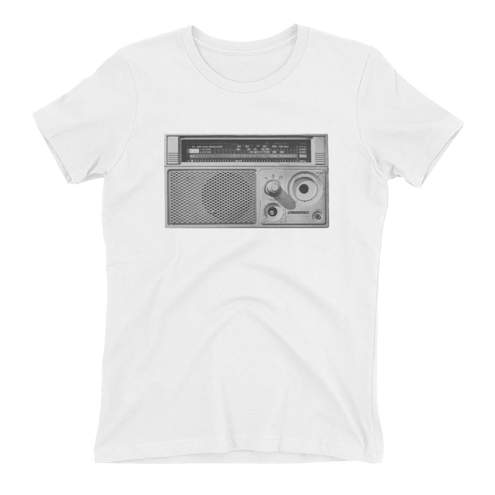 Radio - AM/FM - Stereo - Old School - Boyfriend Tee