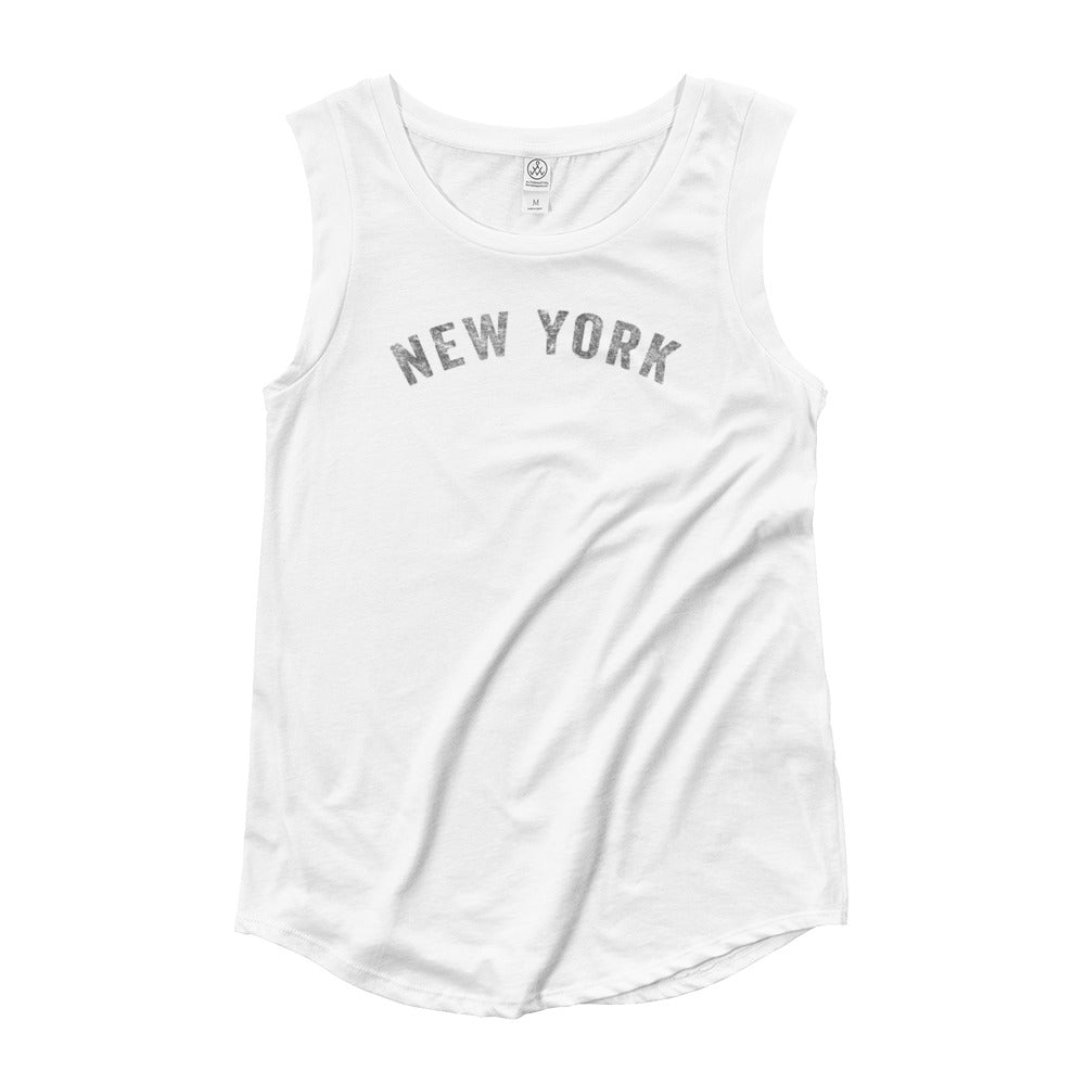 New York Cap Sleeve T-Shirt