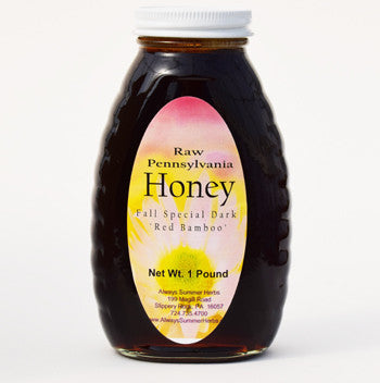 red bamboo fall honey