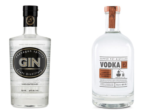 Gin and tonic are also from wheat alcohol