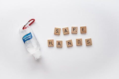 for safe hands, pure alcohol should be used