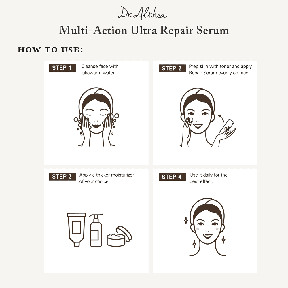 Multi-Action Ultra Repair Serum - Beauty Closet SG