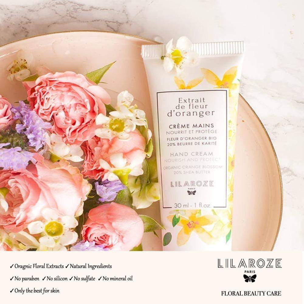 Organic Orange Blossom Hand Cream - Beauty Closet SG