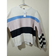 Load image into Gallery viewer, Sanctuary women's multi color block sweater size S