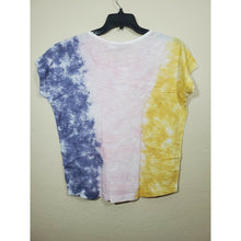Load image into Gallery viewer, William Rast women's tie dye blouse size S