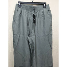 Load image into Gallery viewer, DKNY women's army green wide leg trouser pants size XL