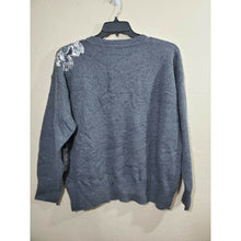 Load image into Gallery viewer, Vince Camuto women's gray sequin blouse size XL