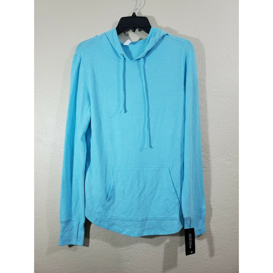 Ideology women's light blue active hoodie size S
