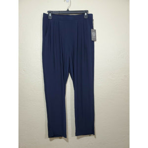 Vince Camuto women's blue slinky pants w/ pockets size S